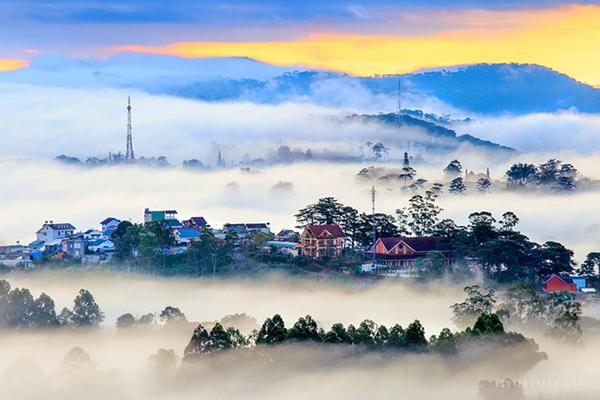 Đà Lạt - xứ sở sương mù