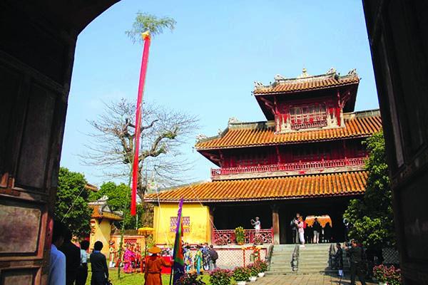 Tết xưa được tái hiện lại tại Đại Nội