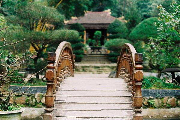 Vẻ đẹp thanh tịnh của ngôi chùa