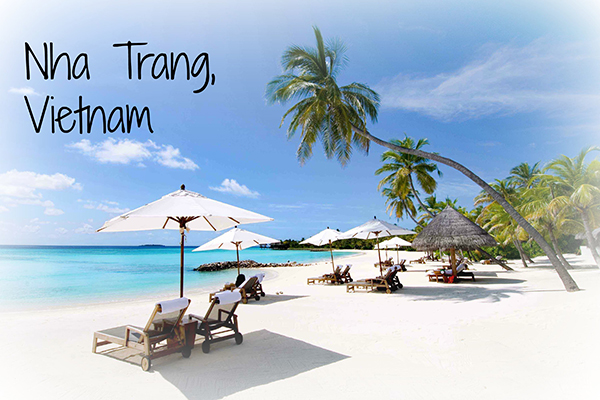 Biển Nha Trang vô cùng kì ảo