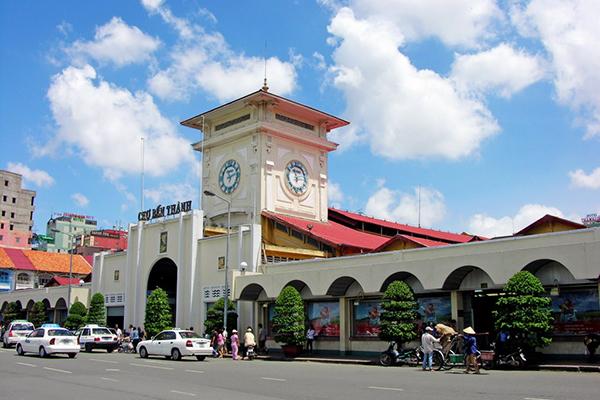 Chợ Bến Thành - biểu tượng của Sài Gòn