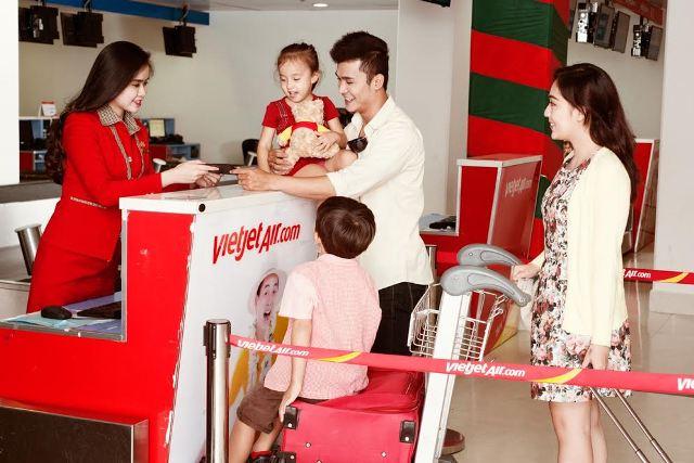 Hướng dẫn check in trực tuyến Vietjet Air