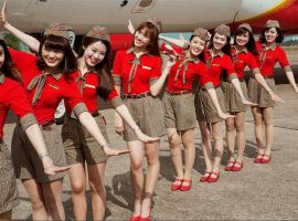Hướng dẫn làm thủ tục đi máy bay Vietjet Air