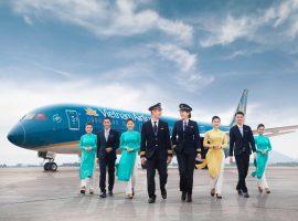 Vé máy bay Vietnam Airlines tháng 1