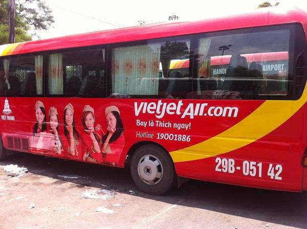 Xe bus đi Nội Bài