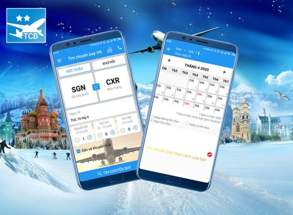 App săn vé máy bay giá rẻ